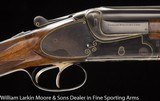 MERKEL Model 210E Sideplate 12ga two barrel set, Cased Mfg 1939