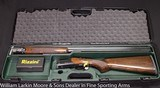 "RIZZINI B Small Action Sporting 28ga 30"" Cased NEW"