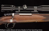 Custom Mauser rifle by Olafsson .30-06, Husqvarna small ring action, Zeiss 3x9 scope - 4 of 6
