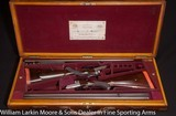 "ALEXANDER HENRY True pair BLE Express Rifles .450/.400 3 1/4"" BPE Cased in O&LMfg 1899 Super Nice!"