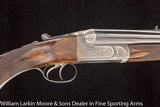 WESTLEY RICHARDS DELUXE DROPLOCK .500/465 NE EXPRESS RIFLES