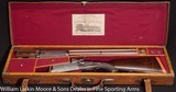 WW GREENER O/U Hammer Express 12bore rifle Cased in O&L Mfg 1886 Very rare and very nice condition - 3 of 9