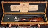 WESTLEY RICHARDS Deluxe Droplock Express .303 Savage Cased in Orig O&L case, Mfg 1907 Near new all original condition - 1 of 11