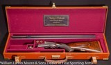 WESTLEY RICHARDS Deluxe Droplock Ejector Express .577 NE Cased in WR best leather case, Mfg 1903 - 1 of 9