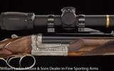 CHAPUIS Model Brousse .470 NE with Leupold VX5HD illuminated 1.5x5 scope in QD mounts Cased NEW - 6 of 9