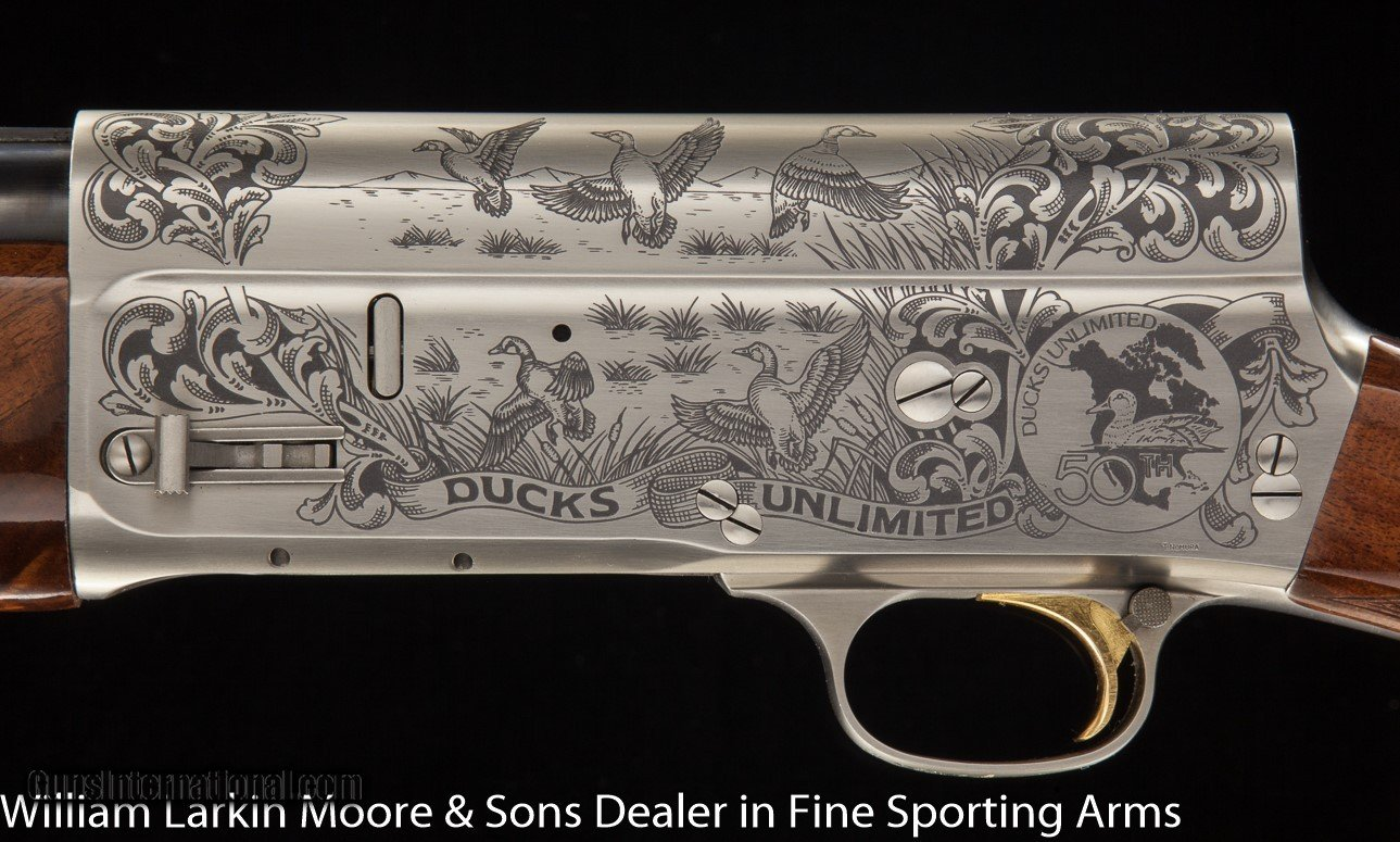 BROWNING Ducks Unlimited 50th year A5 12ga 28