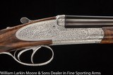 "F.LLI PIOTTI Model King Royal Round body 20ga 30"" 1/4 & 1/2 Fancy Trukish walnut, Cased NEW"