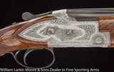 BROWNING Superposed Custom by Hiptmayer 20ga 26.5 Sideplates awesome engraving fancy wood and chekering cased