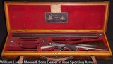 ALEXANDER HENRY Back Action Sidelock Hammerless Underlever Express 14 bore rifle, Mfg 1885 Outstanding condition