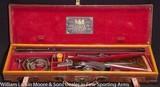 """DANIEL FRASER Best Quality BLE Express .450 3 1/4"""" NE Mfg 1910 Cased in O&L"""