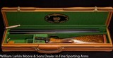 "PARKER REPRODUCTION Model DHE 20ga 26"" IC&M Double triggers Beavertail forearm Extra fancy wood, Cased with overcase"