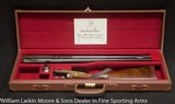 JOSEPH LANG & SON Exhibition Quality Sidelock Ejector Express .470 NE With fabulous gold line engraving Mfg 1920 for the Maharanee Holkar of Indore - 9 of 9