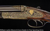 JOSEPH LANG & SON Exhibition Quality Sidelock Ejector Express .470 NE With fabulous gold line engraving Mfg 1920 for the Maharanee Holkar of Indore - 2 of 9