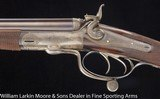 """JAMES PURDEY & SONS Underlever Hammer Double Rifle Rook .360 #5 Rook 27"""" Mfg 1877 - 3 of 6"""