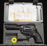 """RUGER New Model Blackhawk .45 5 1/2"""" Blue As new in case with papers"""