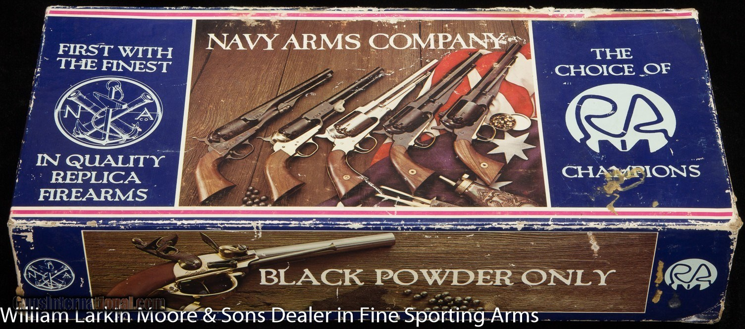 NAVY ARMS BY PIETTA MODEL 1851 NAVY BLACK POWDER REPLICA for