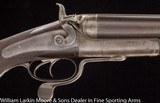WJ JEFFERY Underlever Hammer Express 8 bore rifle Mfg 1886 - 4 of 6