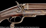 HOLLAND & HOLLAND 8 BORE HAMMER EXPRESS DOUBLE RIFLE - 6 of 8