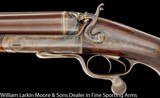 HOLLAND & HOLLAND 8 BORE HAMMER EXPRESS DOUBLE RIFLE - 5 of 8