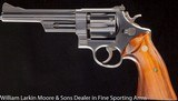 """SMITH & WESSON Model 28-2 Highway Patrolman 6"""" Blue Early 70's production, N serial number, Pinned & recessed - 2 of 4"""