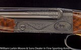 "CSMC Model 21 Custom Grade 6 Two barrel Multi-gauge set 28ga & .410 28"" IC&M Vent ribs 21-6 Engraving, Leather case - 3 of 9"