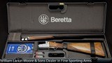 """BERETTA 470 Silver Hawk 12ga 26"""" LtM&IM ABS case with papers AS NEW APPEARS UNFIRED"""