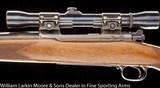 WINCHESTER Pre 64 Model 70 .257 Weatherby mag re-chambered from .257 Roberts, 4x Weaver scope, Pre war - 3 of 6