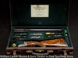 WESTLEY RICHARDS Exhibition Quality Droplock .600NE Extraordinary engraving, Extra fancy wood, Etra locks, cased with accessories, Mfg 1998