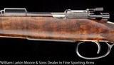 """WJ JEFFERY Mauser Full stock Carbine 8x57 Fancy wood, 20"""" barrel - 4 of 6"""