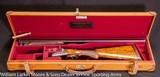 "WESTLEY RICHARDS Deluxe BLE 12ga 28"" M&IM, Original 2 3/4"" chambers, Cased"