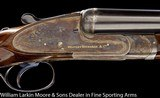 "WESTLEY RICHARDS Sidelock Ejector 12ga 28"" Original 2 3/4"" chambers, Cased"