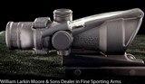 TRIJICON ACOG 4x green rail mount for 5.56 /.223, AS NEW