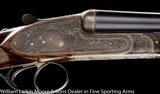 "F.LLI PIOTTI Model King No.1 20ga 27"" LtM&IM, Fancy Turkish walnut, Factory leather case - 6 of 8"