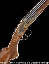 """JAMES PURDEY & SONS Best quality SLE Express .450/.400 3 1/4"""", 2 extra sets of barrels by Marcel Thys, Cased in O&L with accessories, Mfg 1937"""