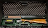 "RIZZINI B Model Light Luxe Small Action, 28ga 28"" Chokes, ABS case, 5#3oz NEW - 3 of 9"