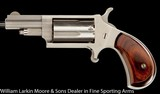 NORTH AMERICAN ARMS Mini Revolver Convertable .22WMR & .22LR, Two cylinders, Pouch, Holster, Box AS NEW - 5 of 7