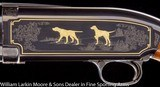 """WINCHESTER Model 12 Limited Edition Grade 4 20ga 26"""" IC, Gold birds and Dogs, #21 of 1000, AS NEW IN BOX, UNFIRED - 6 of 8"""