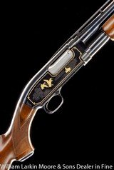 "WINCHESTER Model 12 Limited Edition Grade 4 20ga 26"" IC, Gold birds and Dogs, #21 of 1000, AS NEW IN BOX, UNFIRED"