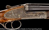 "PEDRO ARRIZABALAGA Best SLE 12ga 28"" IM&F, 2 3/4"" H&H type self-opening, Celtic relief ornamental, Companion to gun #14-00(wlm ID 7521&# - 7 of 7"