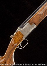 """BROWNING Superposed Exhibition Grade 12ga 32"""" One off engraving by Baerten, Mfg 1974, Unfired in original box"""