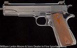 COLT 1911 .45acp National Match Pre-War with adjustable sights and original Pre-War .22 LR conversion kit, Mfg 1941 - 2 of 6