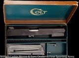 COLT 1911 .45acp National Match Pre-War with adjustable sights and original Pre-War .22 LR conversion kit, Mfg 1941 - 6 of 6