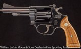 SMITH & WESSON Model 43 Airweight Kit Gun .22LR Adjustable sights, Original Box ,Like New - 2 of 6