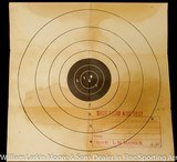 """COLT Woodsman 1st model Sport .22LR 4.5"""" Blue, Original box with papers and test target, Mfg 1937 AS NEW in box - 5 of 9"""