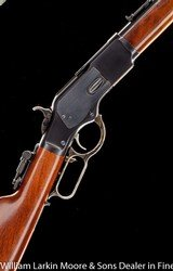 CIMARRON 1873 SRC .32-20, Upgraded sights with flip up tang sight, Action tuned by Bob James, AS NEW