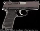 """RUGER P95DC 9mm 3.75"""" Blue, ABS case"""