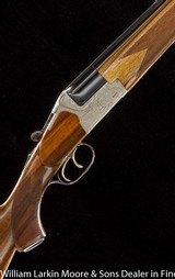fw heym model 55b o/u double rifle 7x65r, mfg 1978, as new in box, unfired