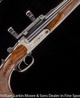 "BLASER S2 DB Express .500/.416 3 1/4"" NE, Upgraded wood, QD scope base with 1"" and 30mm rings, 3 boxes brass, Mfg 2003"