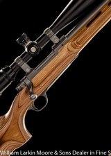RUGER 77 Mark II Varmint .204 Ruger, Nikon 6x24 Long Range scope, Adjustable comb, Like new - 1 of 8