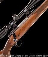 WINCHESTER Model 70 Westerner .223 Rem, Checkered walnut stock, Bushnell 6x18 AO scope, Mfg 1982, Like new - 1 of 8
